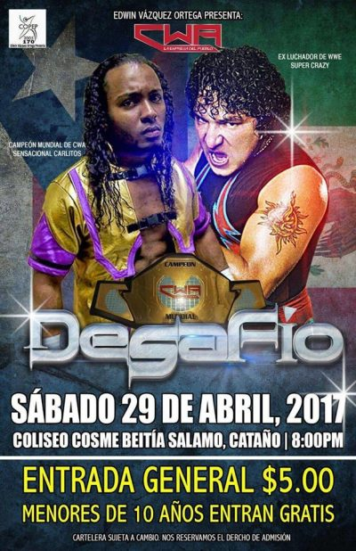 Image result for CWA Desafio