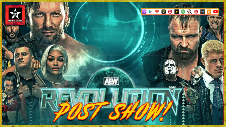 AEW Revolution Post-Show