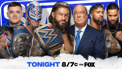 WWE Smackdown On FOX 06/11/21 | The Anoa'is
